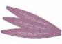 Cesars Kanu rózsaszín-fehér